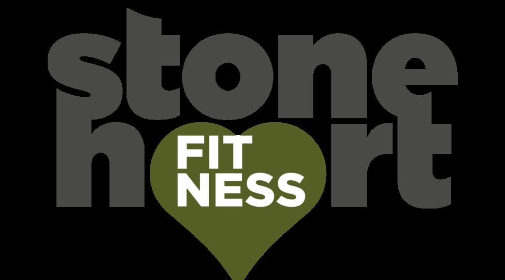 logo stone heart fitness